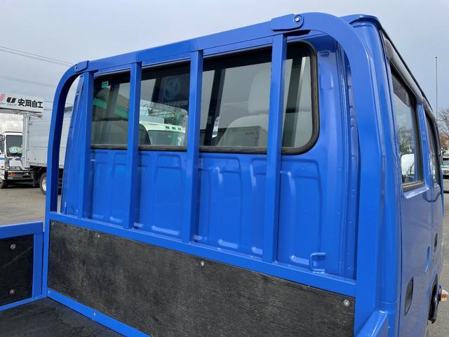 1.15t 4WD Wキャブ6人乗り 平ボデー(7枚目)
