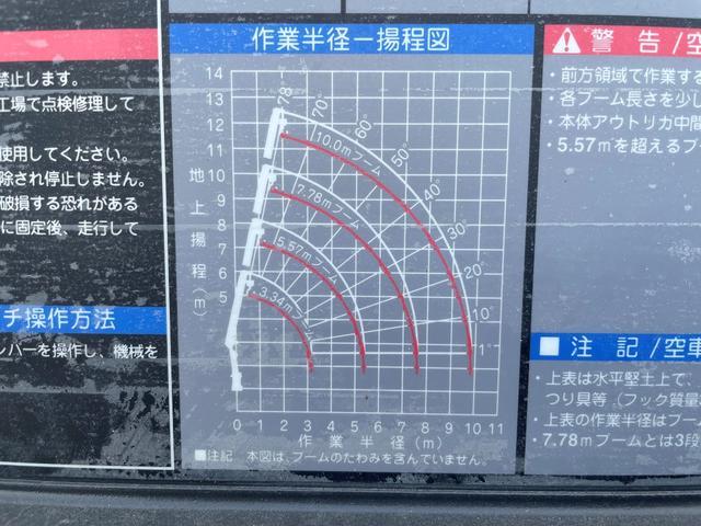 4tワイド4段クレーンラジコン・フックイン 6m荷台長(11枚目)