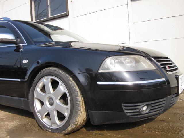 フォルクスワーゲン VW パサートワゴン W8 4モーション 1ナンバー登録