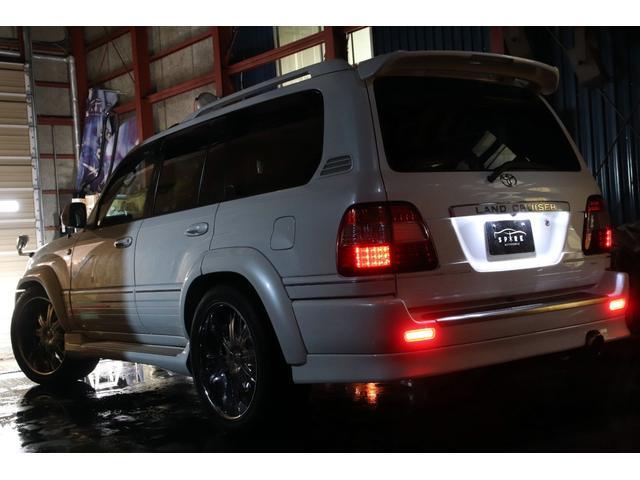 「トヨタ」「ランドクルーザー100」「SUV・クロカン」「北海道」の中古車4