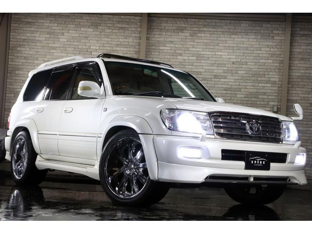 「トヨタ」「ランドクルーザー100」「SUV・クロカン」「北海道」の中古車59