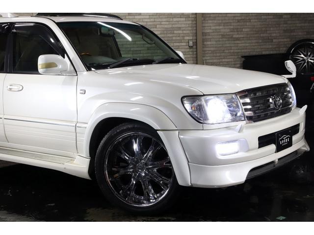 「トヨタ」「ランドクルーザー100」「SUV・クロカン」「北海道」の中古車65