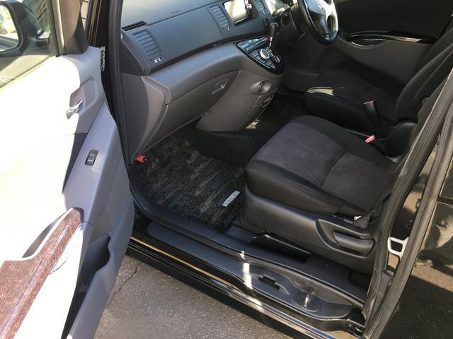 トヨタ アイシス プラタナ4WD パワースライド 寒冷地仕様 車高調19AW