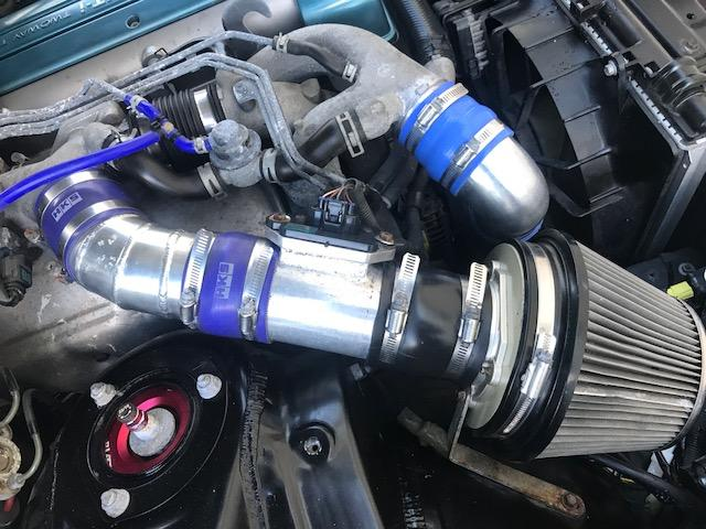 V300ベルテックスエディション フルエアロ 前置IC車高調(10枚目)