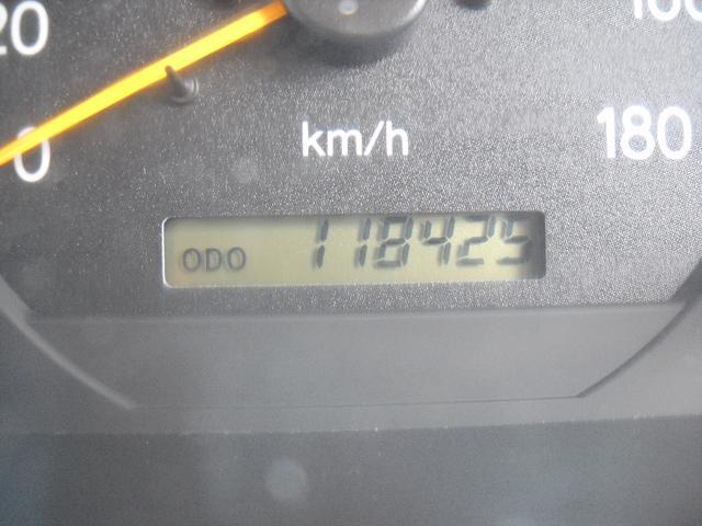 走行118000KM
