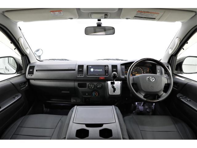 ロングDX GLパッケージ 両側スライドドア・リアヒーター・インナーブラックLEDヘッドライト・フォグランプ白/黄発光LED・ディーラーOPルーフキャリア&リアラダー・フルセグナビ・バックカメラ・荷台防汚カバー/ブラックトリム(12枚目)