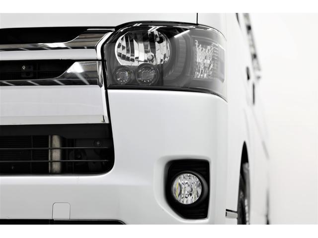 ロングDX GLパッケージ 両側スライドドア・リアヒーター・インナーブラックLEDヘッドライト・フォグランプ白/黄発光LED・ディーラーOPルーフキャリア&リアラダー・フルセグナビ・バックカメラ・荷台防汚カバー/ブラックトリム(22枚目)