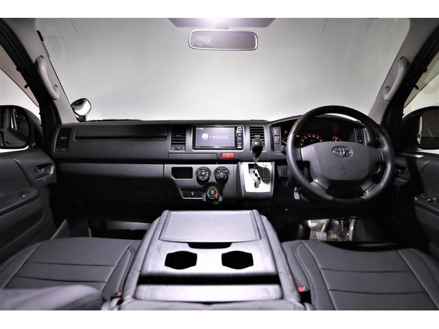 ロングDX GLパッケージ 両側スライドドア・リアヒーター・インナーブラックLEDヘッドライト・フォグランプ白/黄発光LED・ディーラーOPルーフキャリア&リアラダー・フルセグナビ・バックカメラ・荷台防汚カバー/ブラックトリム(43枚目)