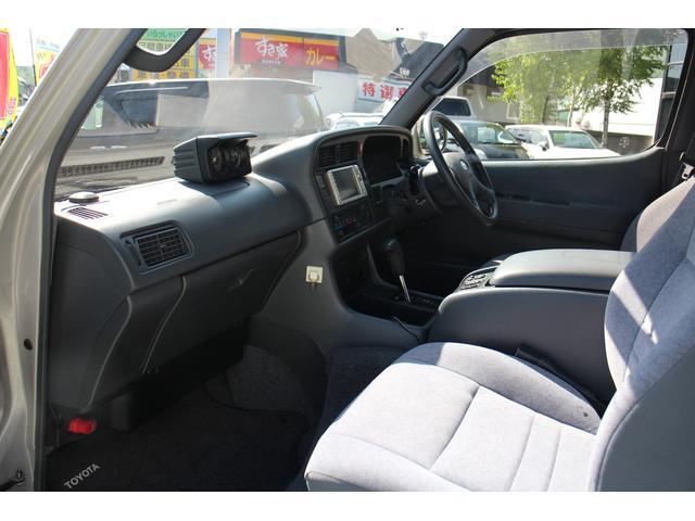 トヨタ ハイエースバン スーパーロングハイルーフ4WDキャンピング本州仕入れ