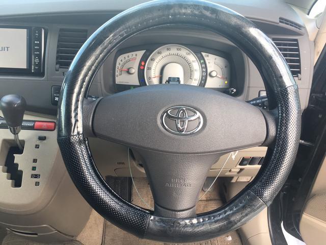 トヨタ アイシス L 4WD ナビ ETC 1年間走行無制限保証付