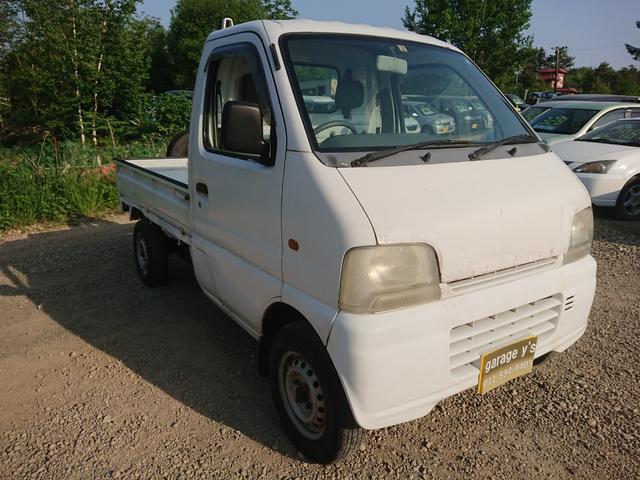 スズキ キャリイトラック KA 4WD MT車