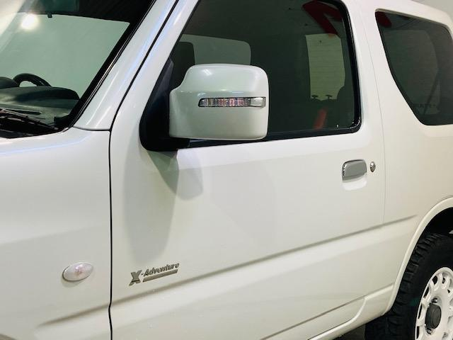 クロスアドベンチャー 4WD リフトアップ 社外マフラー 社外AW マッドタイヤ 社外バンパー 社外ナビ フルセグTV キーレス シートヒーター 新車保証書 取扱説明書(6枚目)