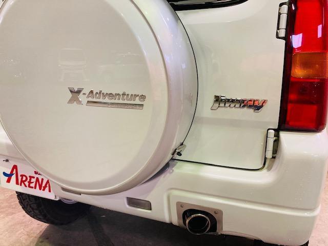 クロスアドベンチャー 4WD リフトアップ 社外マフラー 社外AW マッドタイヤ 社外バンパー 社外ナビ フルセグTV キーレス シートヒーター 新車保証書 取扱説明書(31枚目)