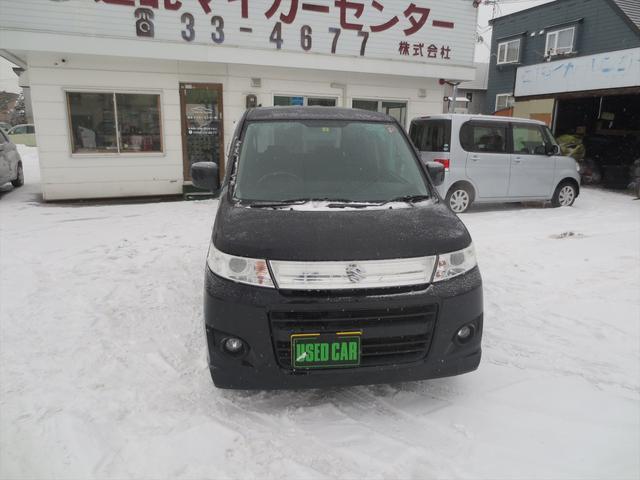「スズキ」「ワゴンRスティングレー」「コンパクトカー」「北海道」の中古車4