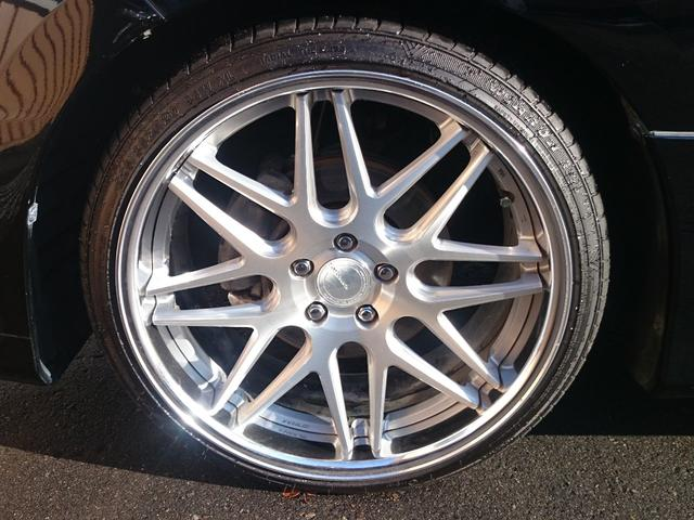 トヨタ エスティマ 2.4アエラス Gエディション4WD 20インチAW 車高調
