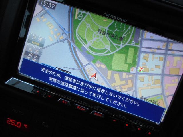 アウディ アウディ A4アバント 1.8Tクワトロ ローダウン 社外ナビ フルセグTV