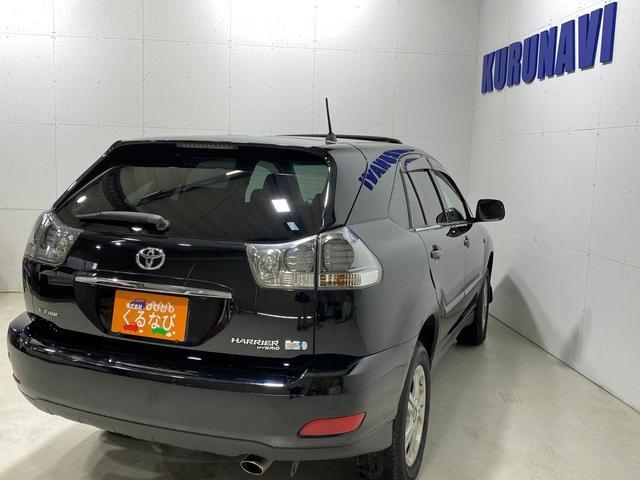 「トヨタ」「ハリアーハイブリッド」「SUV・クロカン」「北海道」の中古車8