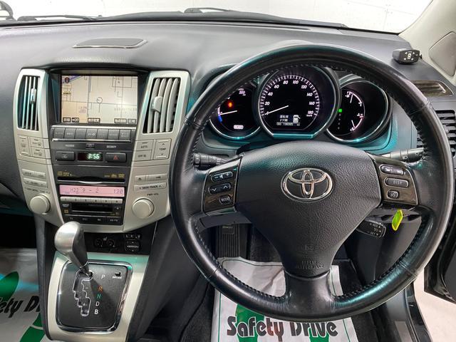 「トヨタ」「ハリアーハイブリッド」「SUV・クロカン」「北海道」の中古車23