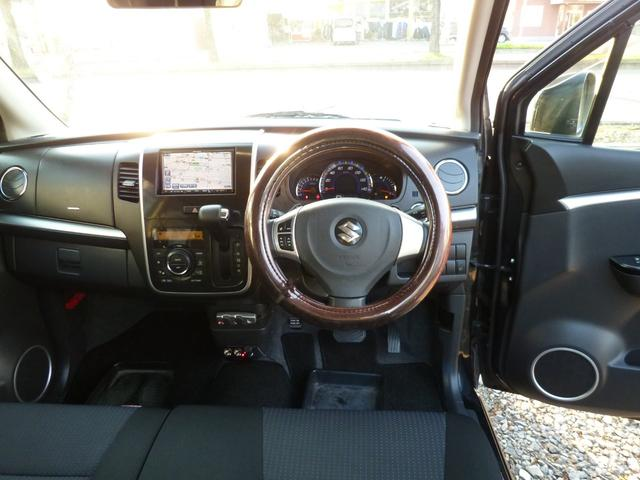 スズキ ワゴンRスティングレー T 4WD ワンオーナー HID ナビ・TV ETC