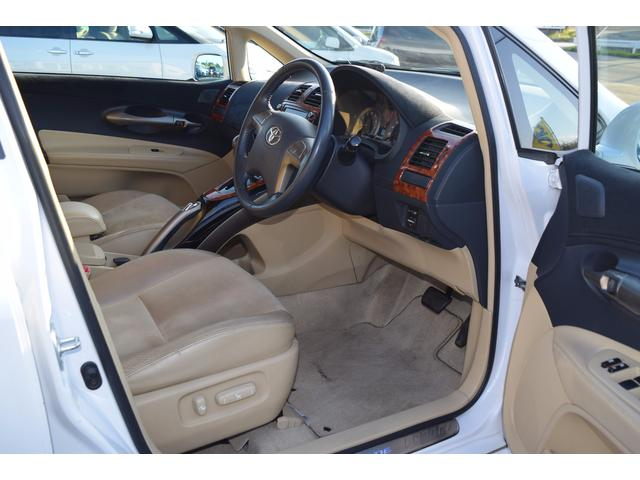 トヨタ ブレイド G 4WD HDDナビ アルカンターラシート プッシュ