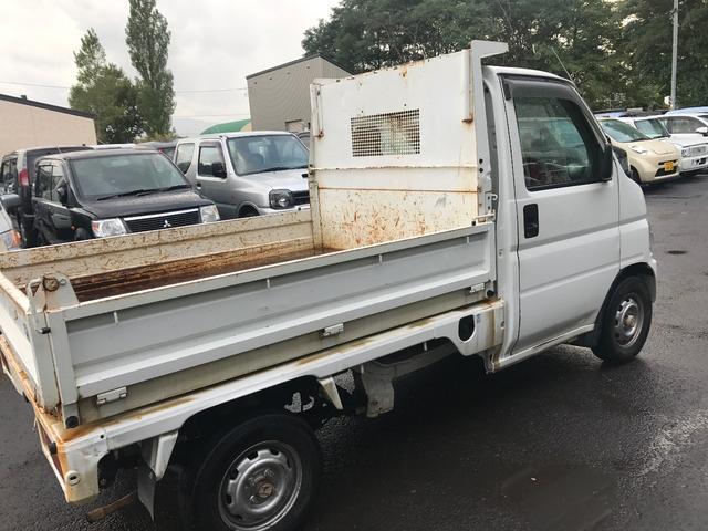 ホンダ アクティトラック ダンプ  4WD タイベル交換済み