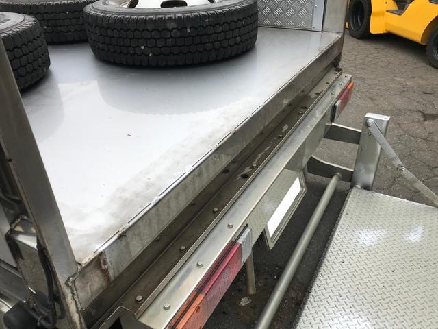 カスタム 中古 4WD 1.5t ステンレス平ボディ(7枚目)