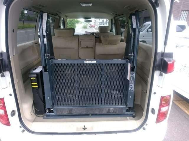 VG 4WD 車椅子リフト チェアキャブ(15枚目)