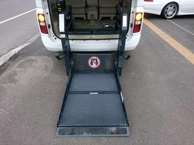 VG 4WD 車椅子リフト チェアキャブ(17枚目)