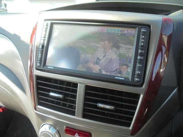 純正HDDナビ搭載!地デジTVの視聴もOKです♪