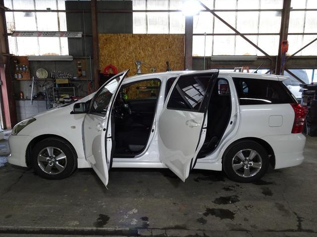 トヨタ ウィッシュ X Sパッケージ4WD エアロ サンルーフ エンスタ HID
