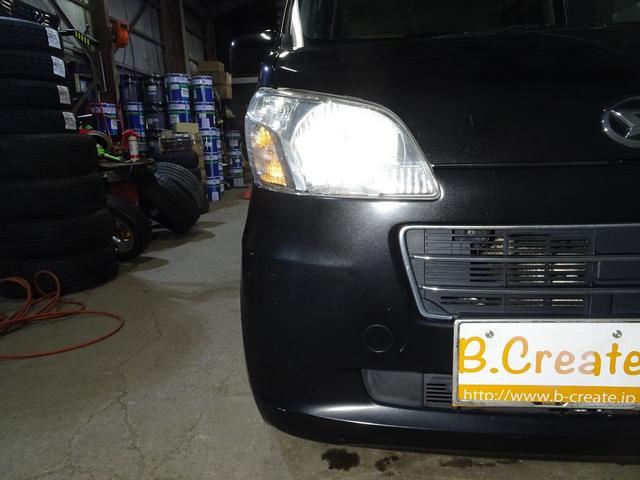 X 4WD エコアイドル ライトレベライザー ドアバイザー(17枚目)