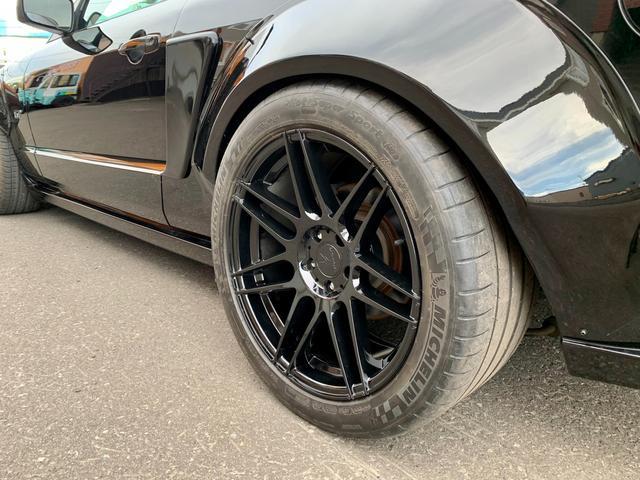 V8 GTコンバーチブル プレミアム ワイドボディ 幌張替(ブラック)(9枚目)