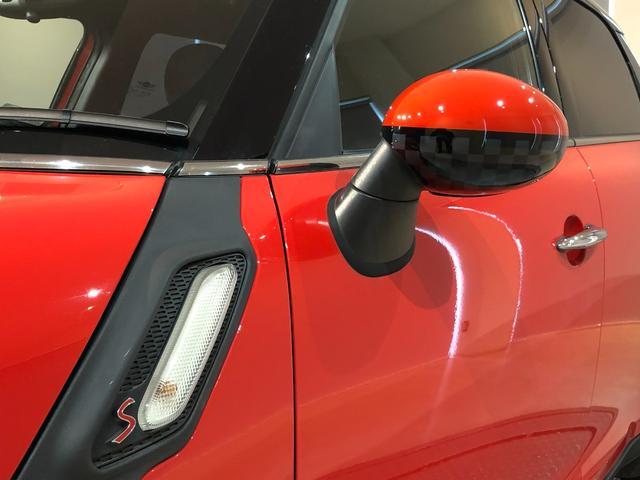 クーパーS クロスオーバー オール4 4WD 社外ナビ 地デジTV バックカメラ ボンネット・ルーフ・リアハッチストライプ 新品ドアミラーカバー ロゴ入りカーテシライト 純正17インチAW クルーズコントロール HIDヘッドライト(8枚目)