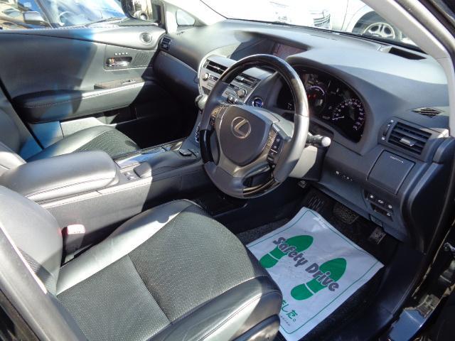 RX450h バージョンL 4WD サンルーフ 黒革シート HDDナビ パワーバックドア 冬タイヤ ホイール(20枚目)