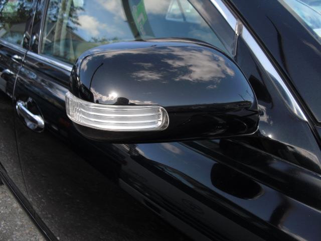 ドアミラーウインカーも標準装備。周りからの視認性も良く安全運転に寄与します