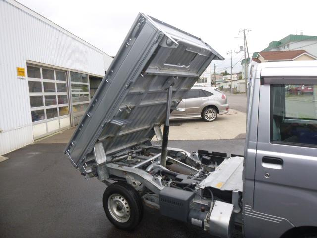 ローダンプ 4WD パワステ エアコン(9枚目)