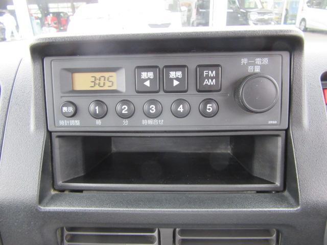 SDX・4WD・エアバッグ・AM/FMチューナー・荷台ランプ(12枚目)