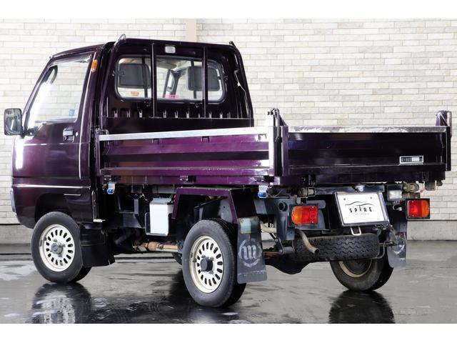 ダンプ 4WD 本州仕入 丸目 ムラサキオールペン(4枚目)