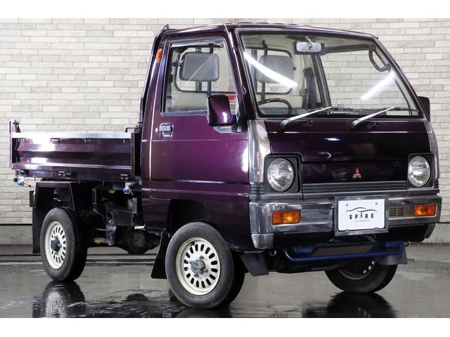 ダンプ 4WD 本州仕入 丸目 ムラサキオールペン(8枚目)
