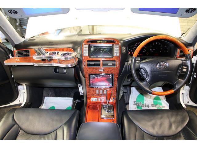 トヨタ セルシオ C仕様 インテリアセレクション バイザーモニタ 20AW