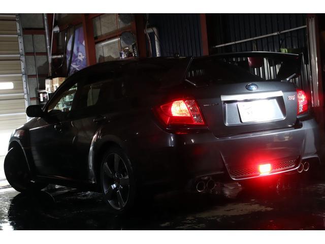 WRX STI Aライン 4WD 大型ウイング ナビTV(9枚目)