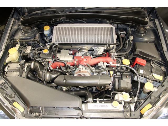 WRX STI Aライン 4WD 大型ウイング ナビTV(19枚目)