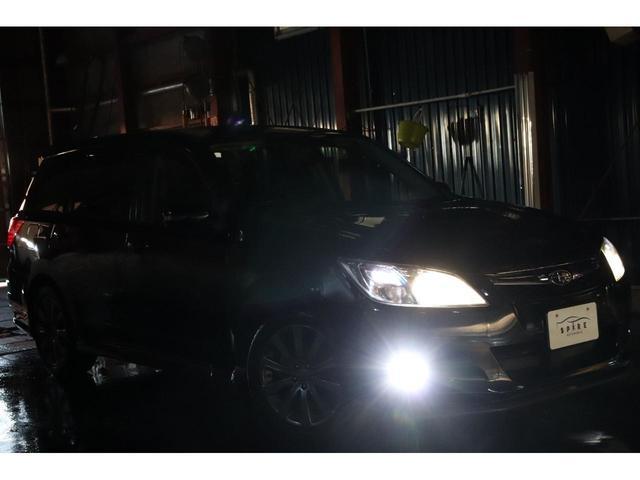 2.0GT 本州仕入 ターボ 7人乗り STIリップスポイラー リアスポ 新品4灯HID Pスタート SIドライブ ハーフレザーシート 外オーディオ Bカメラ ウインカーミラー ワイパーデアイサー スマートキー(11枚目)