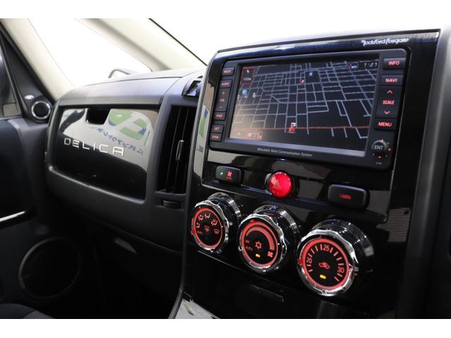 ローデスト G プレミアム 純正HDDナビ フルセグ F・S・Bカメラ 前後ドラレコ ロックフォードサウンドシステム 両パワスラ パワーバックドア VSC クルコン スマートキー 純正エアロ 純正18AW HID 寒冷地仕様車(41枚目)