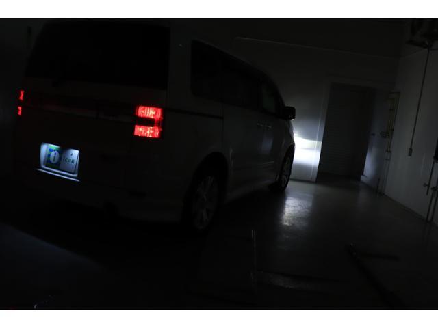 ローデスト G プレミアム 純正HDDナビ フルセグ F・S・Bカメラ 前後ドラレコ ロックフォードサウンドシステム 両パワスラ パワーバックドア VSC クルコン スマートキー 純正エアロ 純正18AW HID 寒冷地仕様車(59枚目)