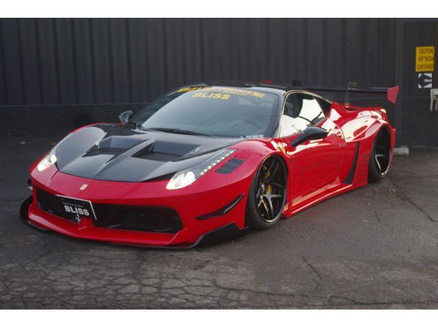 「フェラーリ」「458イタリア」「クーペ」「北海道」の中古車6