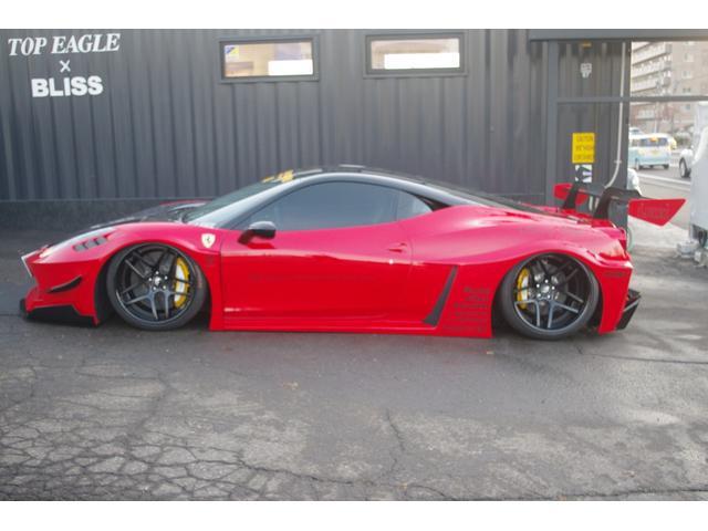 「フェラーリ」「458イタリア」「クーペ」「北海道」の中古車7