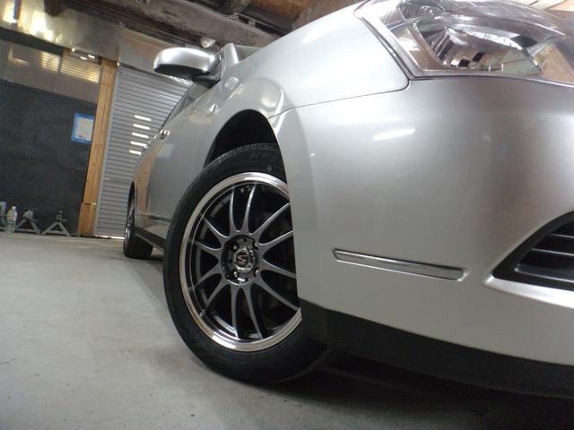 日産 ブルーバードシルフィ 15M4WD65000キロ1年距離無制限保証 夏冬タイヤ付き