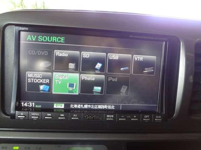 X 4WD HDD フルセグTV(2枚目)