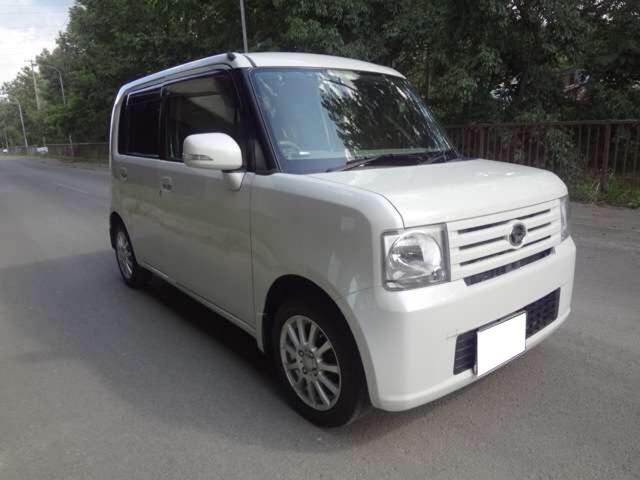 X 4WD ナビ 軽自動車 ホワイト CVT AC AW(3枚目)